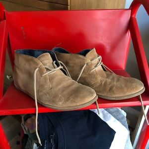 Lucky Brand Suede Chukka Boots